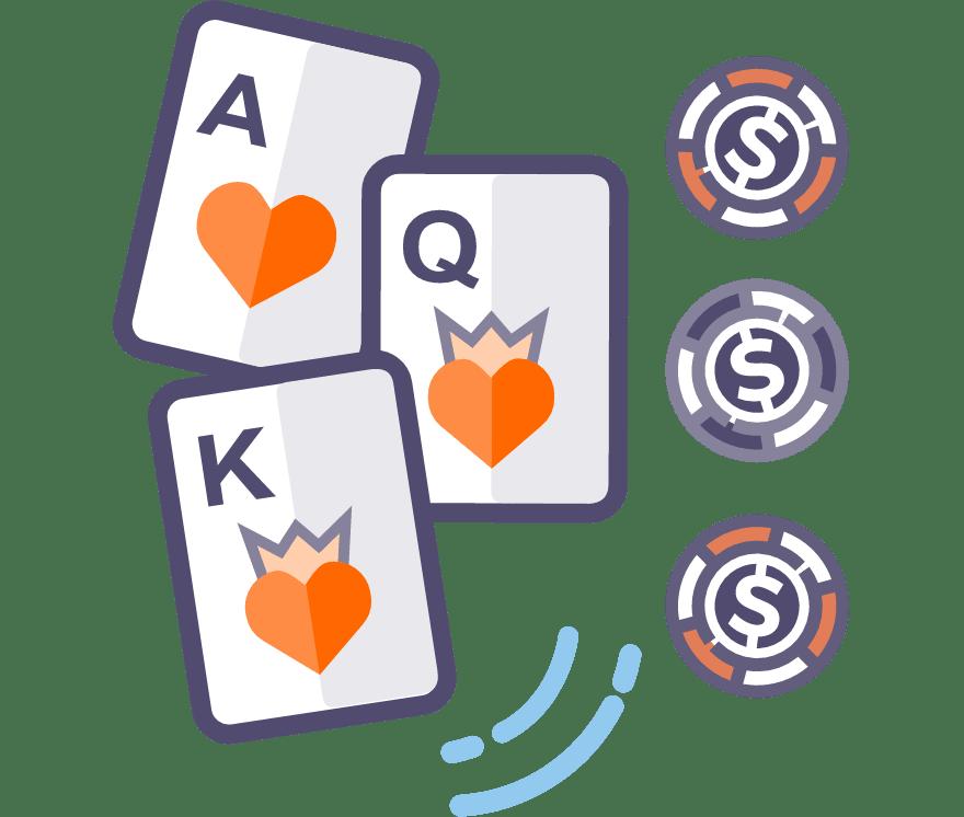 Los 63 mejores sitios de Casino de Póker de tres cartas en línea en Columbia
